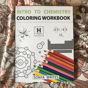 Chemistry coloring book!
